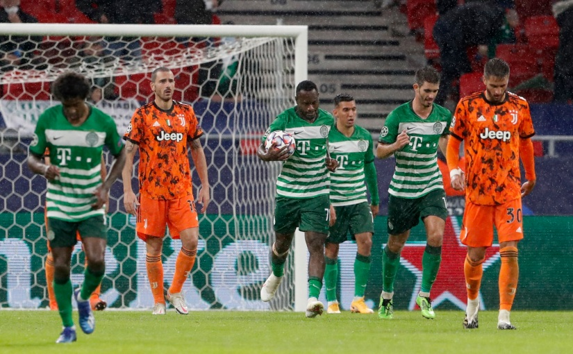 Juventus bounces back after Barcelona loss by beating Ferencváros1:4