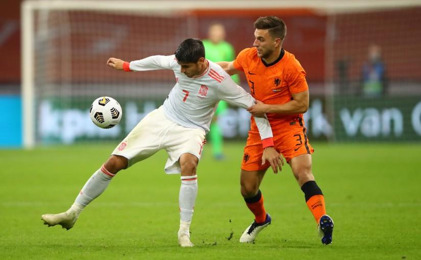 Spagna sfata il mito Amsterdam pareggiando contro l'Olanda nell'amichevole di NationsLeague
