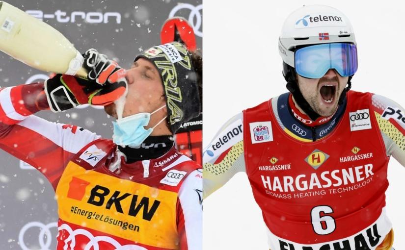 The weekend of firsts: Manuel Feller and Sebastian Foss-Solevaag's dream races inFlachau