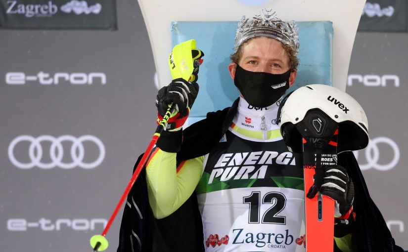 Linus Straßer's emotional first Slalom win inZagreb