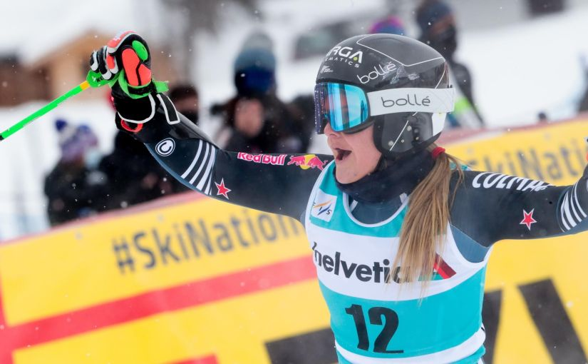 Back to the '80s: young Kiwi Robinson making history in the new era ofskiing