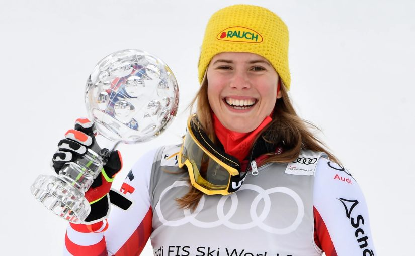 Liensberger ends the Slalom Crystal Globe drought forAustria!